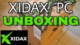 Xidax PC Unboxing!