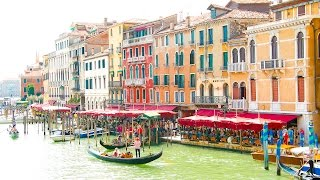 Venice Vlog: Gondola, St. Mark's Square, Rialto Bridge and Market, etc.!