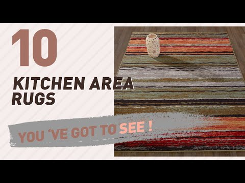 Kitchen Area Rugs Collection // New & Popular 2017