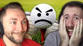 BRINGING WADE DOWN WITH ME! | Golf It #1