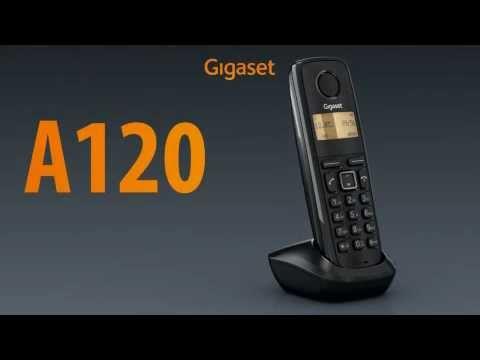 Teléfono Inalámbrico Siemens Gigaset A120