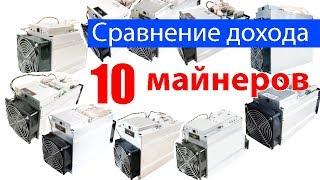Сравниваю 10 асиков Antminer: их доход и окупаемость!
