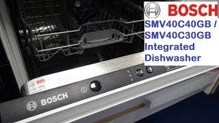 Bosch SMV40C40GB Fully Integrated Dishwasher