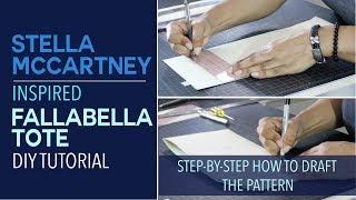 DIY Stella McCartney Tote   Drafting The Pattern