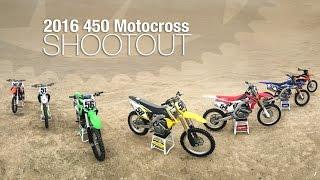 2016 450 Motocross Shootout  MotoUSA
