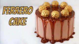 מתכון לעוגת מוס פררו עם מפל שוקולד