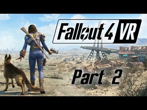 Fallout 4 VR - Part 2 - Swimming with the Fishes