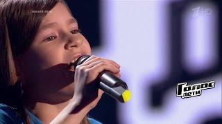 Ксения Незнамова «Hero» - Слепые прослушивания - Голос.Дети - Сезон 4