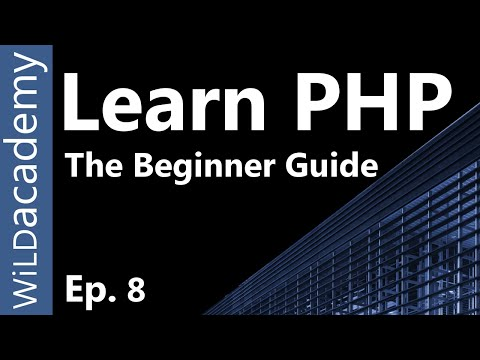 Learn PHP – PHP Programming Tutorial – 8