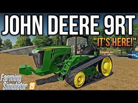 JOHN DEERE 9RT IS HERE! | New Mods & Map For FS19 - DjGoHam Gaming