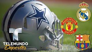 Los Cowboys dejan en ridículo a los gigantes del fútbol | Más Deportes | Telemundo Deportes
