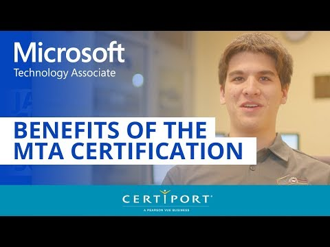 Students benefit from the Microsoft Technology Associate ... - YouTube