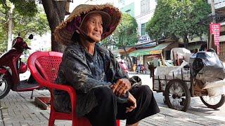 Bà còng 70 tuổi rời nhà từ 3h sáng lượm ve chai kiếm sống qua ngày