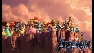 [MAJOR SPOILERS] Super Smash Bros. Ultimate Trailer (Avengers: Endgame Style)