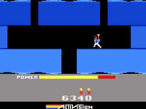 Atari 2600 H E R O  1984 Activision