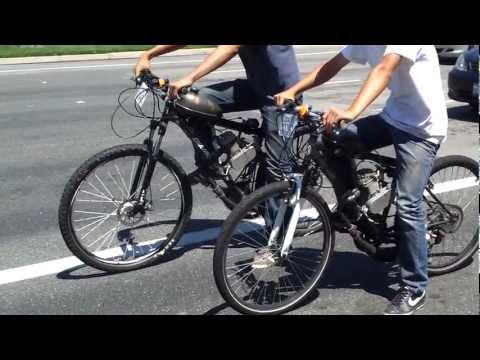 Motorized Bicycle Racing