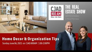 Home Décor & Organization Tips