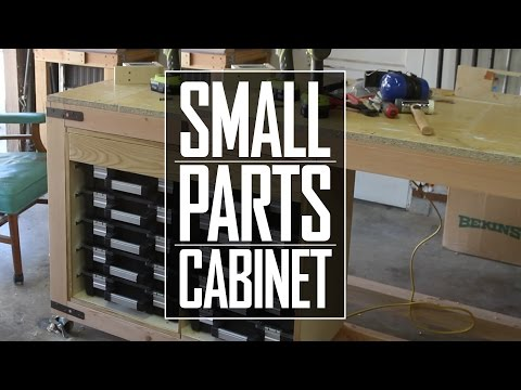 26 - Small Parts Cabinet