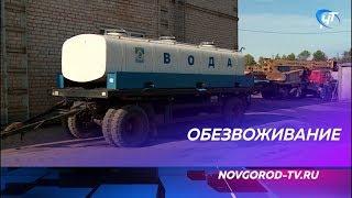 Новгородцев сегодня ждет ночь без воды