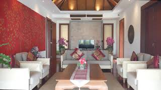 Modern Tropical Four to Six Bedroom House with Sea-Views For Sale at Surin