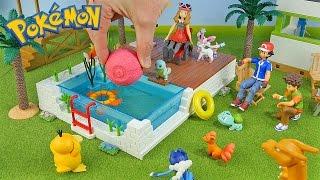 Download Youtube: Pokemon Vacation - New PokeBall Bath Bomb - Surprise Toys