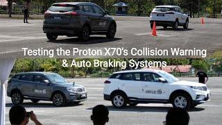 Proton X70 Premium - Forward Collision Warning (FCW) & Autonomous Emergency Braking (AEB) Tested