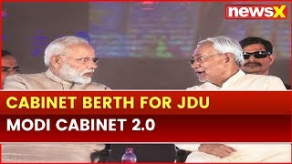 JDU also get a cabinet berth, Nitish Kumar informed, Sources; PM Narendra Modi Cabinet 2.0