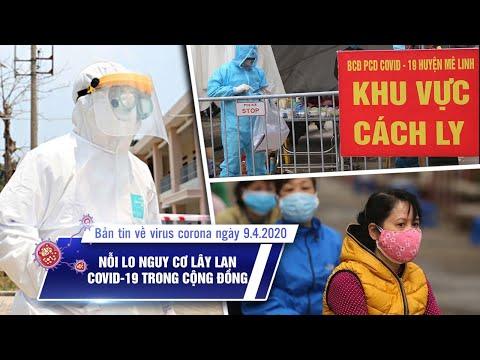 Tin tức dịch bệnh Covid-19 tối ngày 09/4/2020