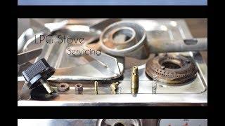 LPG Gas Stove Servicing/Maintenance | DIY