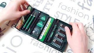 LAOA 38 in 1 Отличный набор инструментов для ремонта ноутбуков и телефонов!