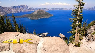 Crater Lake National Park 4K