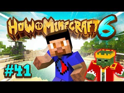 ZOMBIE KING BOSS BATTLE! - How To Minecraft #41 (Season 6)