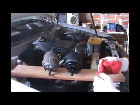 como cambiar los soportes del motor