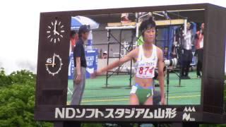 2017 山形インターハイ陸上 女子400m 決勝