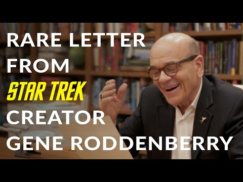 A rare letter from Star Trek creator Gene Roddenberry