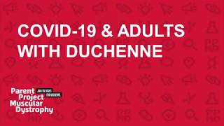 COVID-19 & Adults with Duchenne (April 1, 2020)