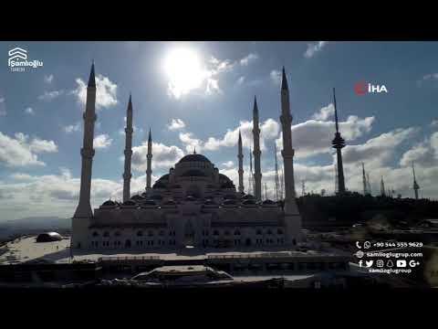 العرب اليوم - شاهد: افتتاح أكبر جامع في العالم بتركيا