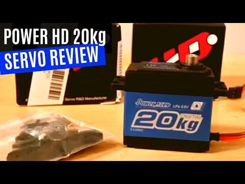 Power HD LW 20MG servo review by Cesco