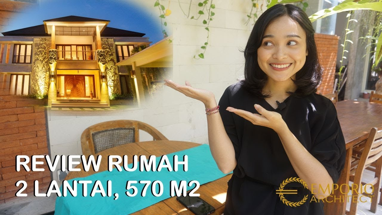 Video Hasil Konstruksi Type 570 Villa Bali House 2 Floors Design - Sempidi, Badung, Bali