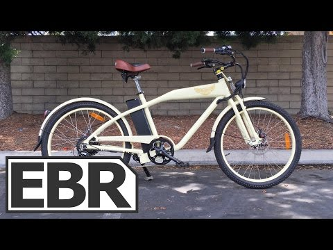 Ariel Rider W-Class Video Review – Vintage Style Cruiser Ebike