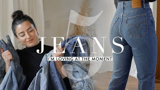 Top 5 Favorite High Rise Jeans: Try On & Review