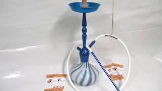 Кальян Kaya Shisha Blue Zebra ELOX 590 Score Blue 2S, видеообзор 1