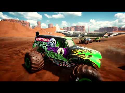 Monster Jam Steel Titans - Teaser Trailer thumbnail