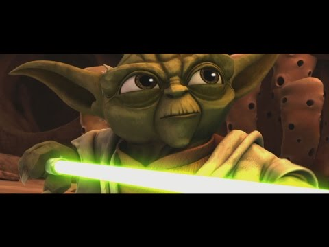 Star Wars: The Clone Wars - Master Yoda Vs  Separatist Droid Army [1080p] Mp3