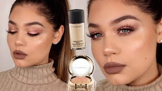 FULL FACE USING MAC COSMETICS | ONE BRAND Makeup Tutorial | Blissfulbrii