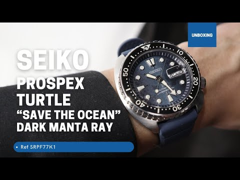 SEIKO PROSPEX KING TURTLE SAVE THE OCEAN AUTOMATIC WATCH SRPF77K1