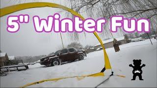 "Winter Blast 5"" FPV Quad Home Race Track"