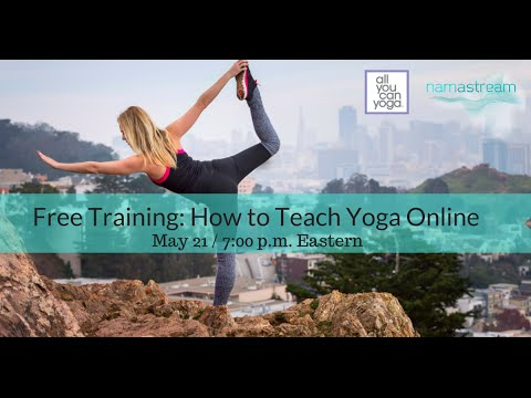 Free Training: How to Teach Yoga Online - YouTube