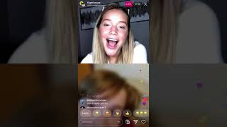 Olivia Ponton answering Questions on live (05.13.2020)