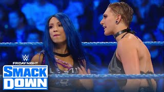 Team NXT Takes On Team SmackDown In A 4 On 4 Women's Tag Match | FRIDAY NIGHT SMACKDOWN